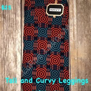LuLaRoe Tall & Curvy TC Leggings New with Tags